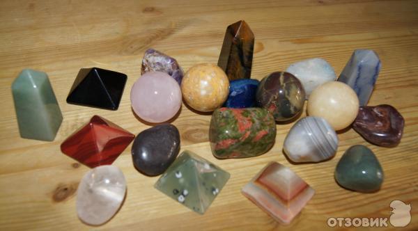 Купить коллекцию минералов и натуральных камней