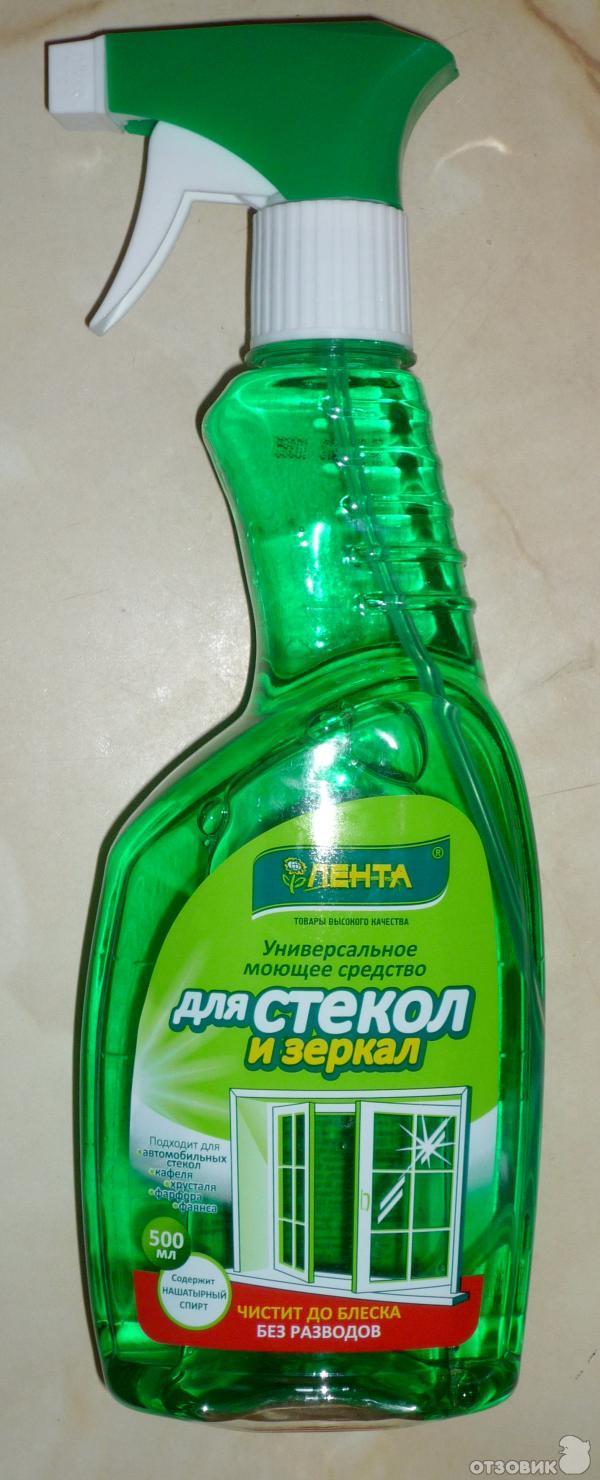 Чистящее средство для стекол автомобиля своими руками