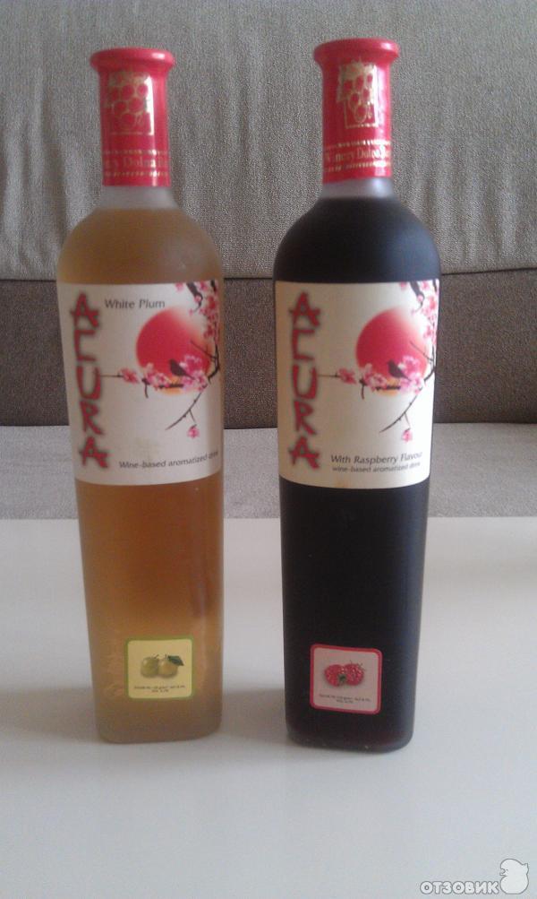Сакура вино белое