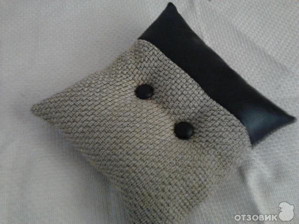 Как сшить подушку в машину фото