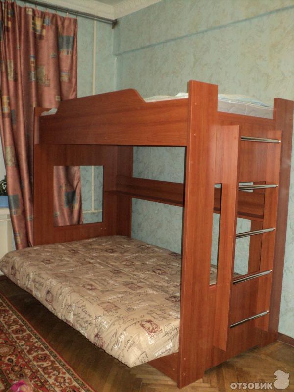 Кровать чердак с диваном внизу боровичи