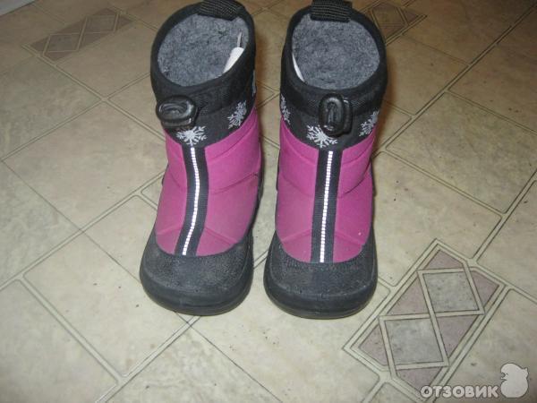 Отзыв: Зимняя детская обувь Kuoma - Kuoma неоднозначная обувь.