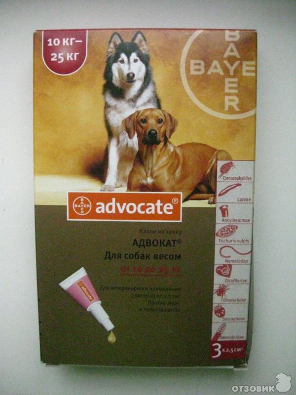 Капли Адвокат Для Собак Инструкция Отзывы - фото 3