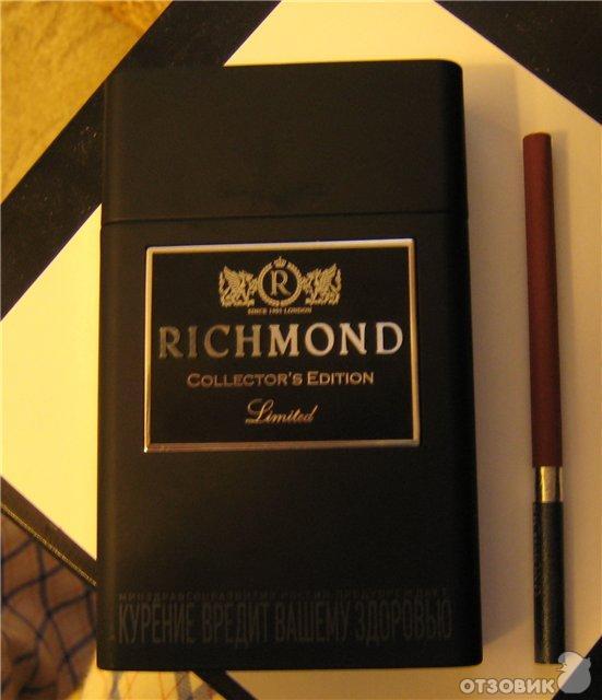 сигареты ричмонд фото