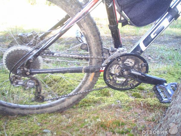 Лапка на велосипед для передачи скоростей