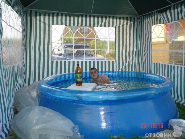 Как сделать надувной бассейн своими руками