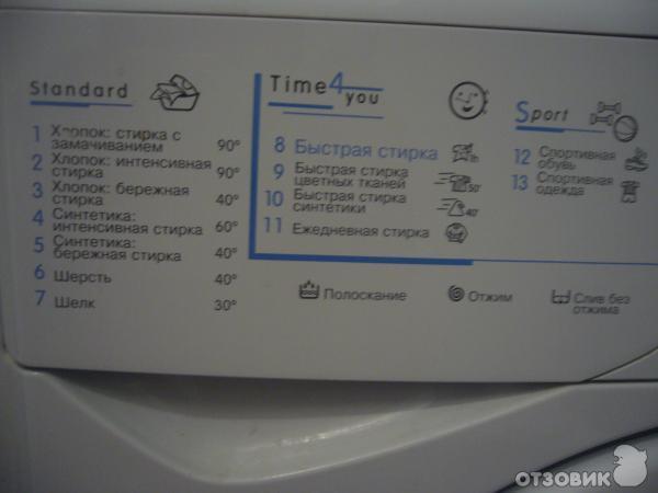 Руководство пользователя: стиральная машина indesit wisl 62.