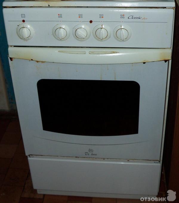Zanussi газовая плита ремонт
