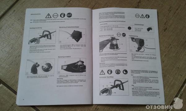триммер электрический макита Um 4030 инструкция - фото 11