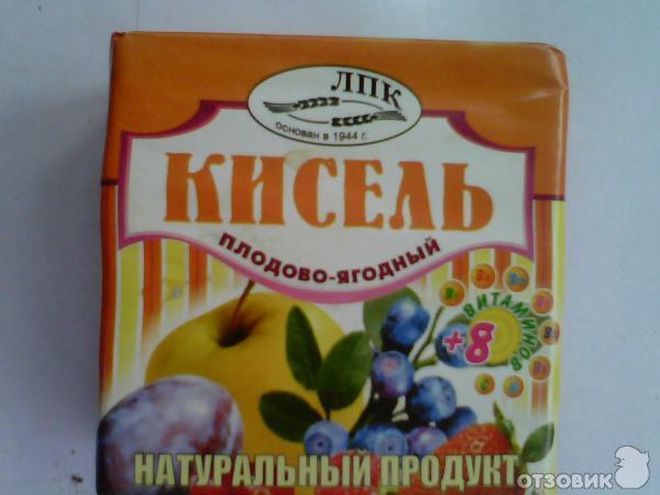 Отзыв: Кисель ЛПК Плодово-ягодный - Витаминизированный напиток.