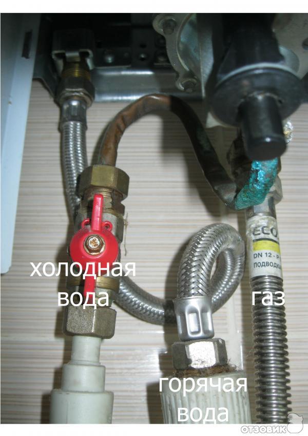 газовая колонка Electrolux Gwh 275 Rn инструкция - фото 3