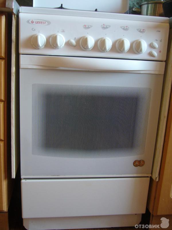 плита газовая гефест брест 3100-04 инструкция по применению духовки