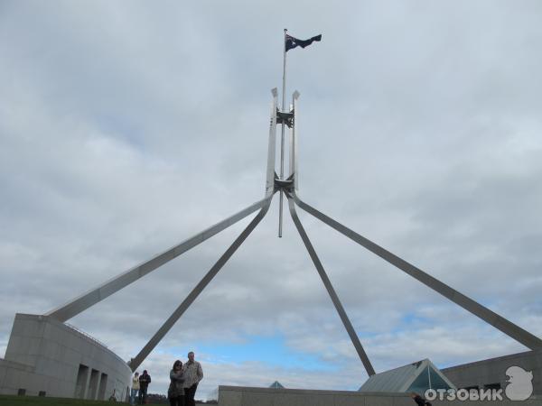Здание Парламента Австралии (Австралия, Канберра) фото