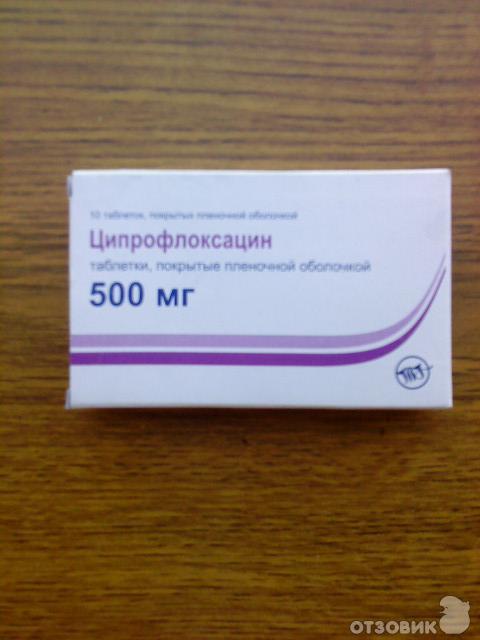 Ципрофлоксацин фото