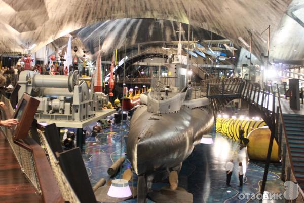 музей в таллине подводная лодка