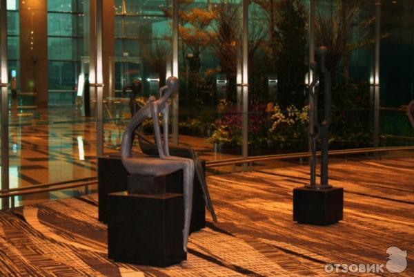 Отзыв: Аэропорт Чанги (Сингапур) - Достойно восхищения, как и все в Сингапуре.