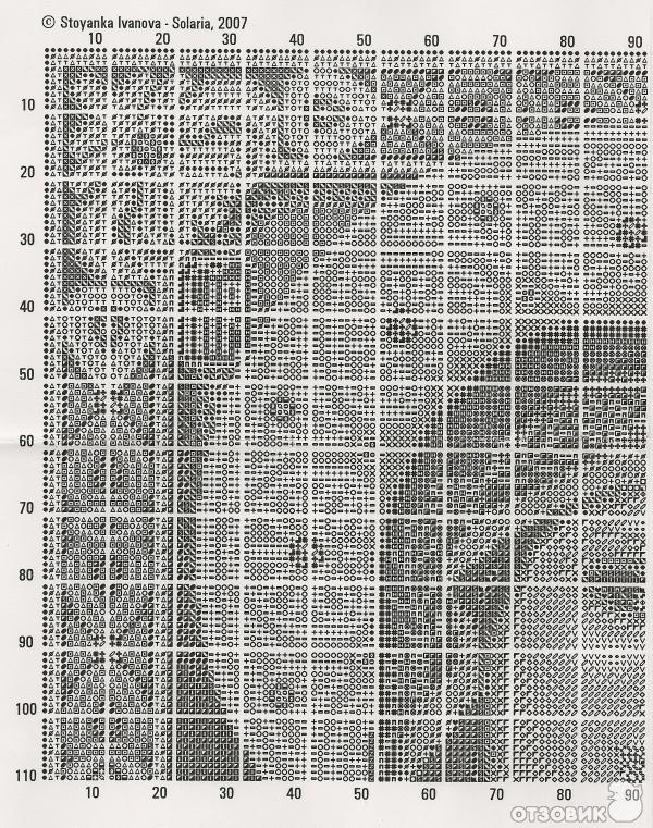 Схема для вышивания от Стоянки
