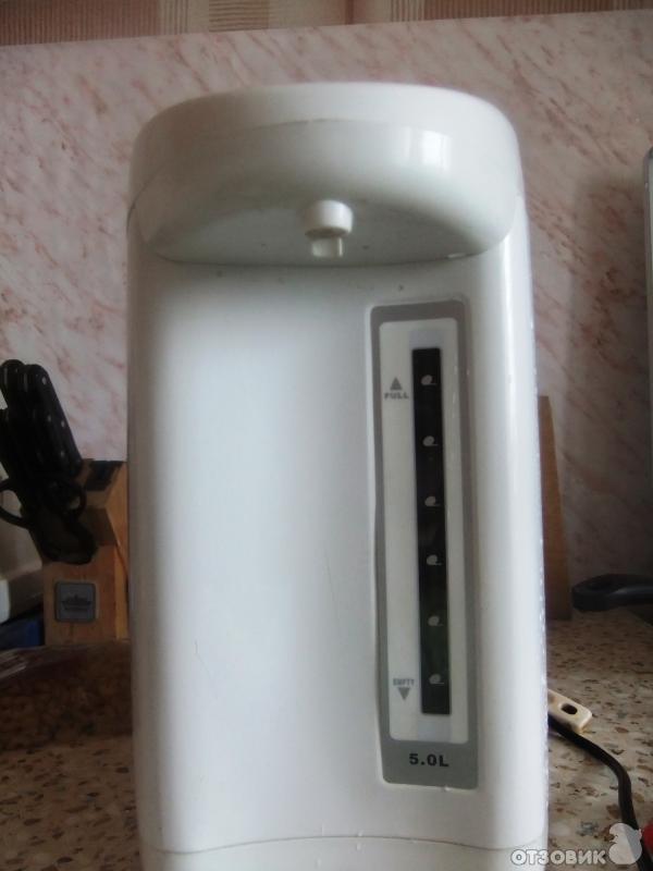 Отзыв: Электрический чайник-термос Ракета - постоянно горячая вода!