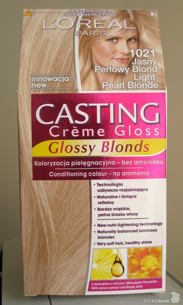 Лореаль краска для волос блонд отзывы