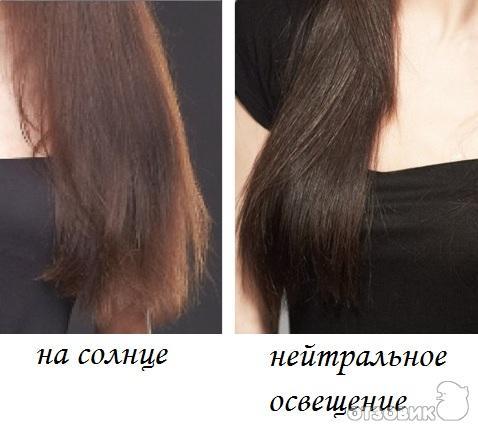тоника рыжий на темные волосы