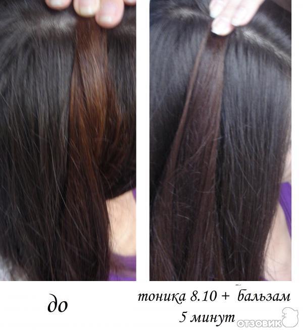 Тоник для темных волос