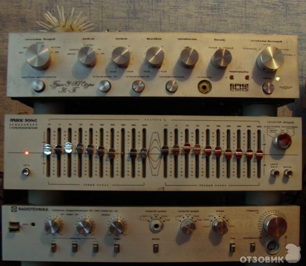 Отзыв: Эквалайзер Прибой ЭО14С - Отличный эквалайзер для качественного звучания.