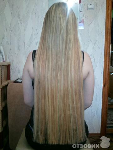 Наращивание волос горячим способом фото