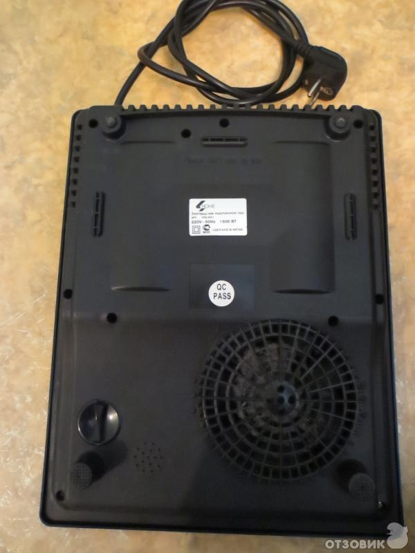 """В июне прошлого года я купил себе электрическую индукционную плитку  """"HOME """" HS-20C1 1500W.  Мне нравится на кухне этой..."""