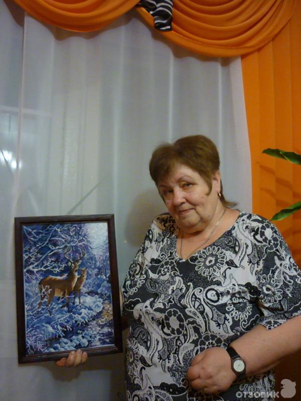 Выставка работ вышивки крестом 85