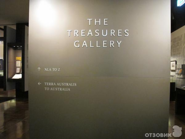 Музей Treasures Gallery (Австралия, Канберра) фото