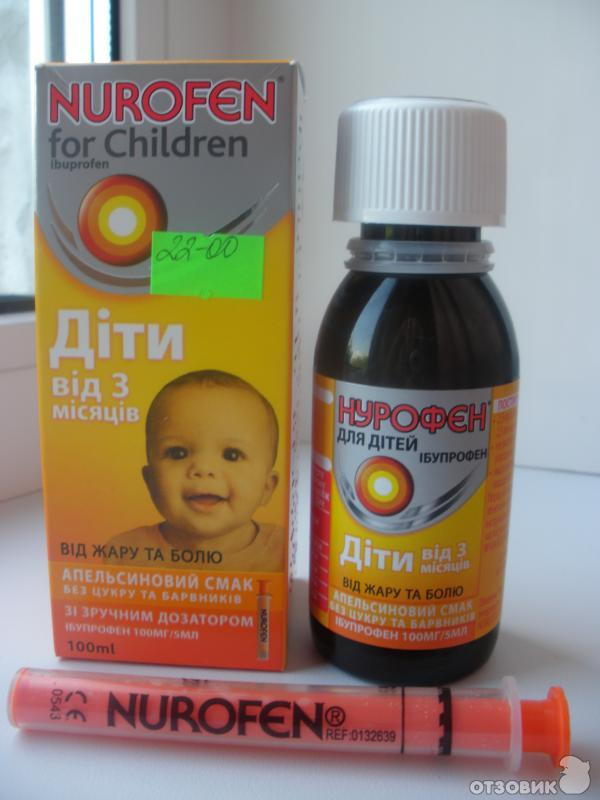нурофен сироп детский инструкция по применению: