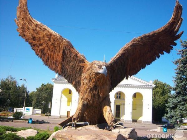 орел на вокзале в орле фото
