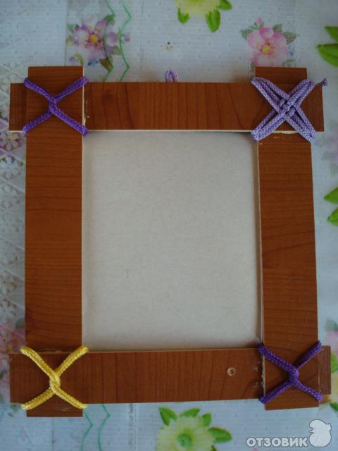 Фоторамка своими руками из подручного материала фото