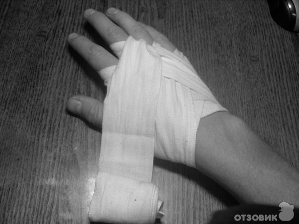Как сделать руки в бинтах 21