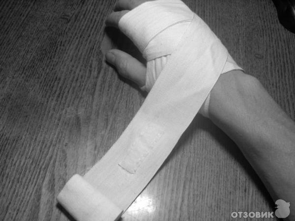 Как сделать руки в бинтах 57