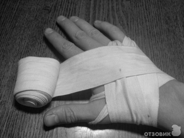 Как сделать руки в бинтах 628