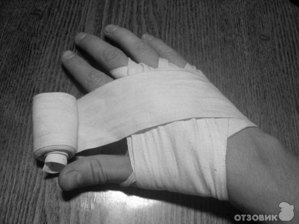 Как сделать руки в бинтах 188