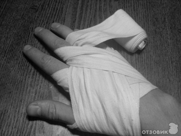 Как сделать руки в бинтах