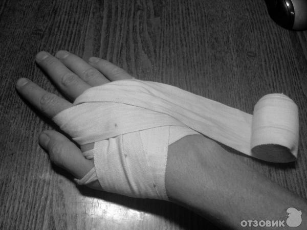 Как сделать руки в бинтах 338