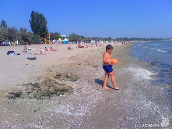 фото лузановка пляж