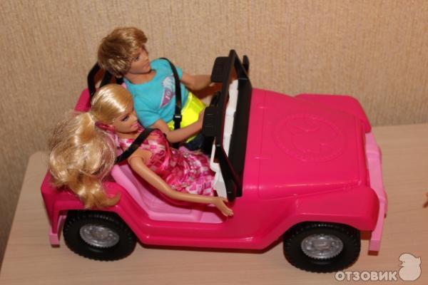 Как сделать для кукол барби машину