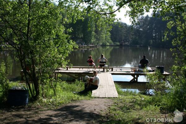 рыбалка в калиновском лесопарке