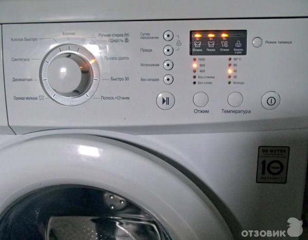 Выключается стиральная машина через 5 минут после включения