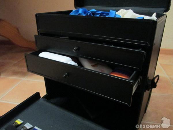 Сириус чемодан для мастера маникюра
