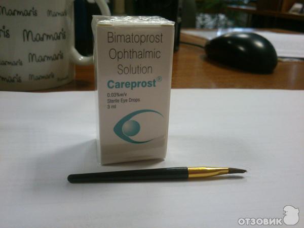 перевод инструкции Careprost - фото 2