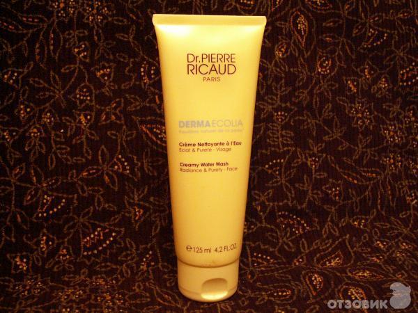 Отзыв о крем для полного очищения кожи dr. pierre ricaud derma ecolia отличный очищающий крем для лица!.