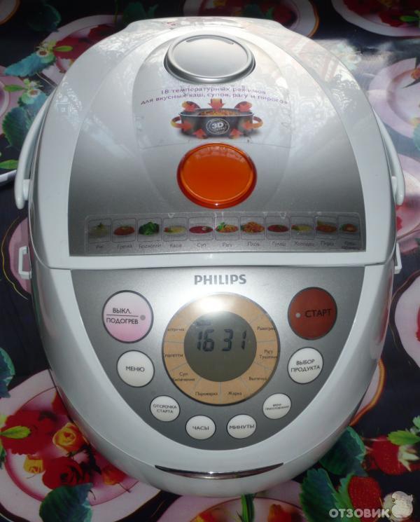 инструкция мультиварка Philips 3039 - фото 10