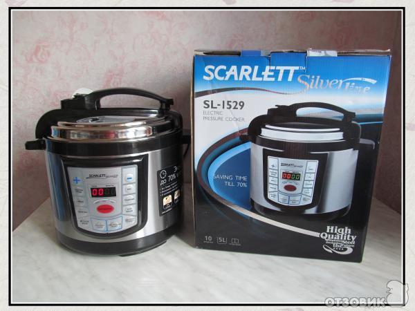 Scarlett Silver Line Sl-1529 инструкция - фото 4