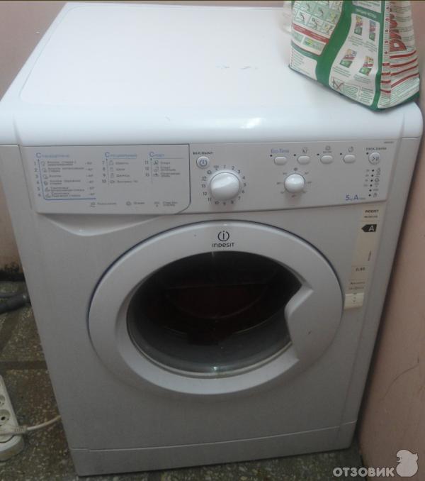Почему стиральная машинка индезит не отжимает и не сливает воду