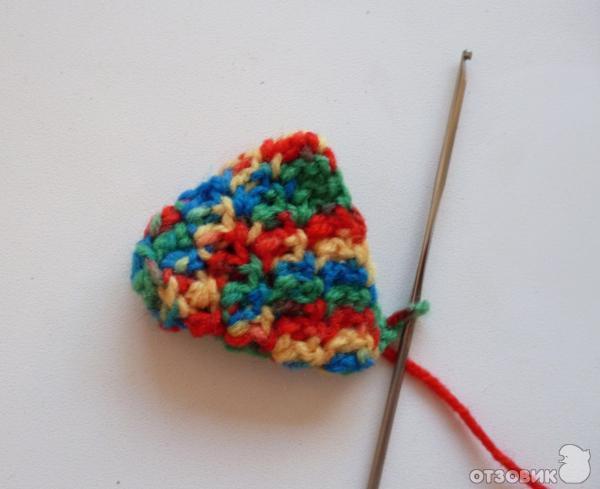 схема вязания носков для новорожденных.